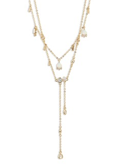 Nordstrom Two Strand Y-Necklace