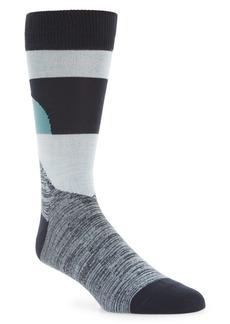 Nordstrom Ultrasoft Colorblock Socks