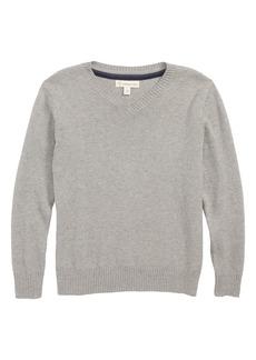 Nordstrom V-Neck Sweater (Toddler Boys, Little Boys & Big Boys)