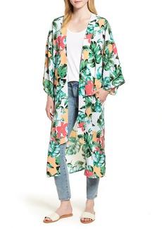 Nordstrom Vacation Print Kimono