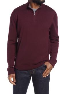 Nordstrom Washable Merino Quarter Zip Sweater