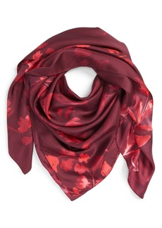 Nordstrom 'Woodland Whispers' Square Silk Scarf