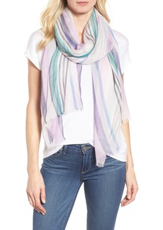 Nordstrom Yarn Dyed Stripe Wrap