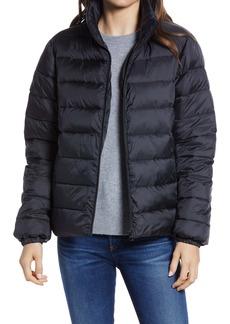 Nordstrom Zip Puffer Coat
