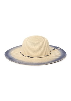 Nordstrom Open Weave Floppy Hat