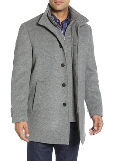 Nordstrom (R) Hudson Wool Car Coat