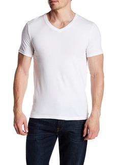 Nordstrom Stretch Cotton V-Neck T-Shirt - Pack of 3