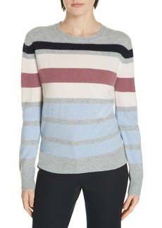 Nordstrom Stripe Boiled Cashmere Sweater