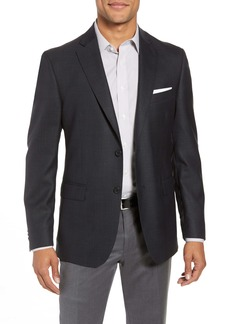 Nordstrom Traditional Fit Plaid Wool Sport Coat
