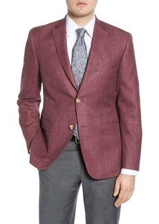 Nordstrom Traditional Fit Solid Cotton Blend Sport Coat