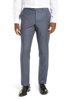 Nordstrom Trim Fit Flat Front Stretch Wool Trousers