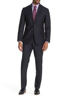 Nordstrom Two Button Notch Lapel Trim Fit Suit