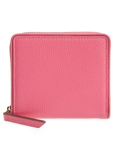 Women's Nordstrom Freida French Zip Around Wallet - Pink