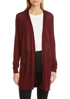 Nordstrom Wool, Silk & Cashmere Open Cardigan