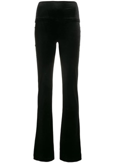 Norma Kamali colour block trousers