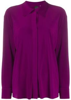 Norma Kamali concealed-fastening shirt