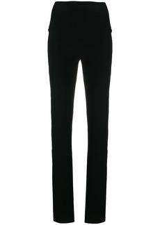 Norma Kamali double stripe trousers
