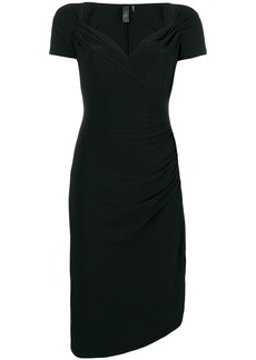 Norma Kamali fitted midi dress