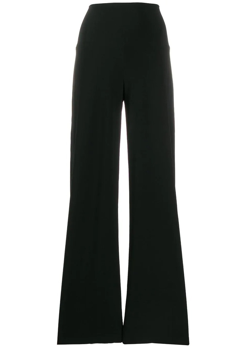 Norma Kamali high-waist loose fit trousers