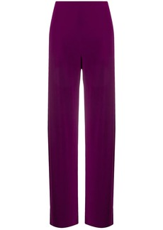 Norma Kamali high-waisted straight trousers