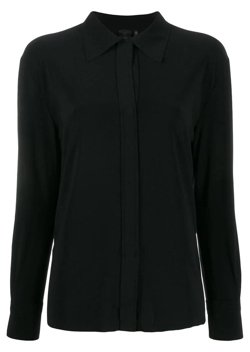 Norma Kamali long sleeve loose fit blouse