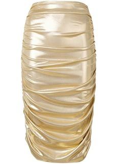 Norma Kamali mid-length skirt