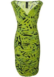 Norma Kamali midi printed dress