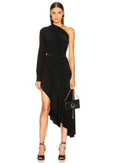 Norma Kamali All In One Hi Low Dress