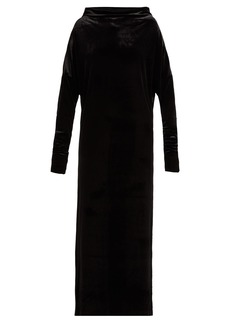 Norma Kamali All-in-one velvet dress