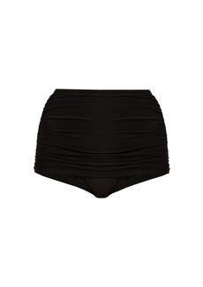 Norma Kamali Bill high-rise bikini briefs