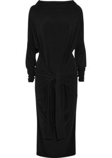 Norma Kamali Convertible stretch-jersey dress
