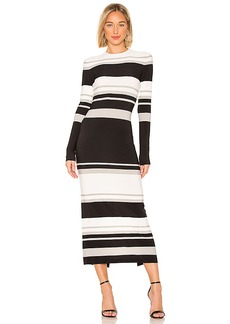 Norma Kamali Crew Neck Dress