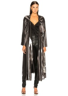 Norma Kamali Dolman 80's Flared Midcalf Trench