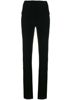 Norma Kamali double stripe trousers