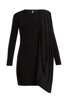 Norma Kamali Draped jersey dress