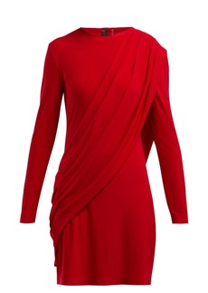 Norma Kamali Draped jersey dress