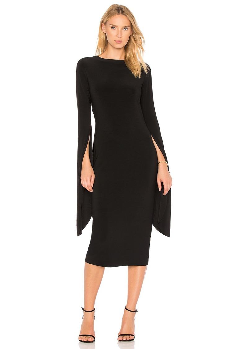 Norma Kamali Norma Kamali Draped Low Back Dress  de40a59f5