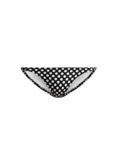 Norma Kamali Eric polka-dot print bikini briefs