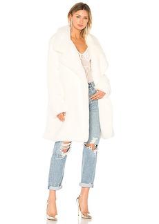 Norma Kamali Faux Fur Coat