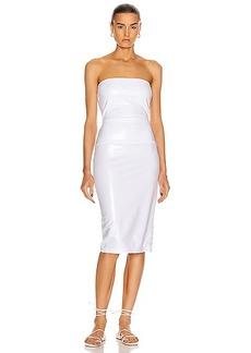 Norma Kamali for FWRD Strapless Dress