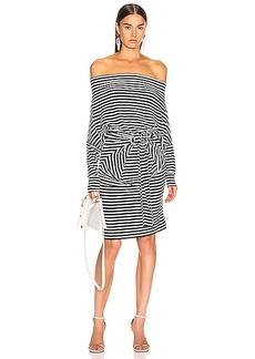 Norma Kamali Four Sleeve Off The Shoulder Dress