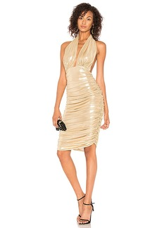 Norma Kamali Halter Dress