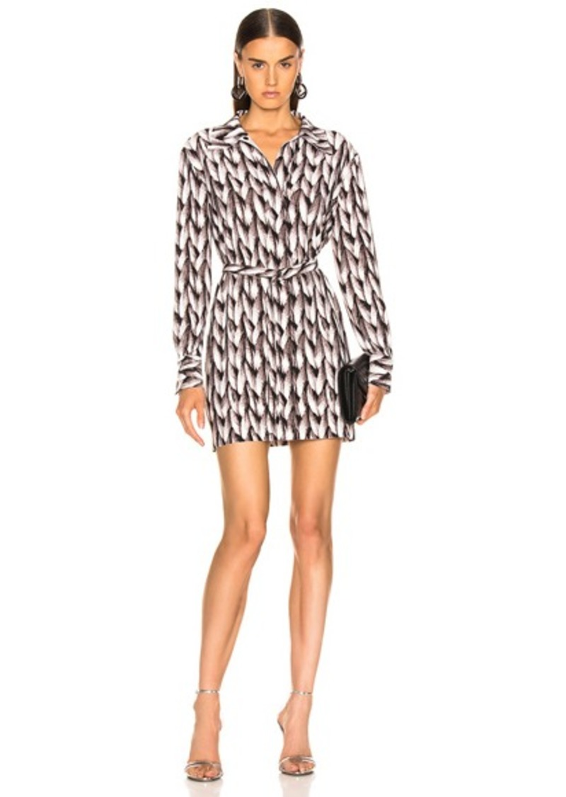Norma Kamali Mini Shirt Dress