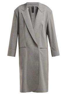 Norma Kamali Oversized stretch-cotton coat