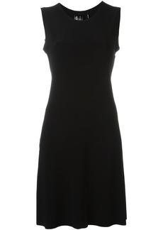 Norma Kamali pleated short dress - Black