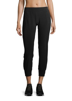 Norma Kamali Pull-On Stretch-Jersey Jogger Pants