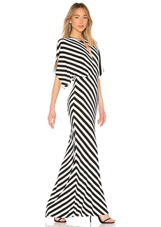 Norma Kamali Rectangle Gown
