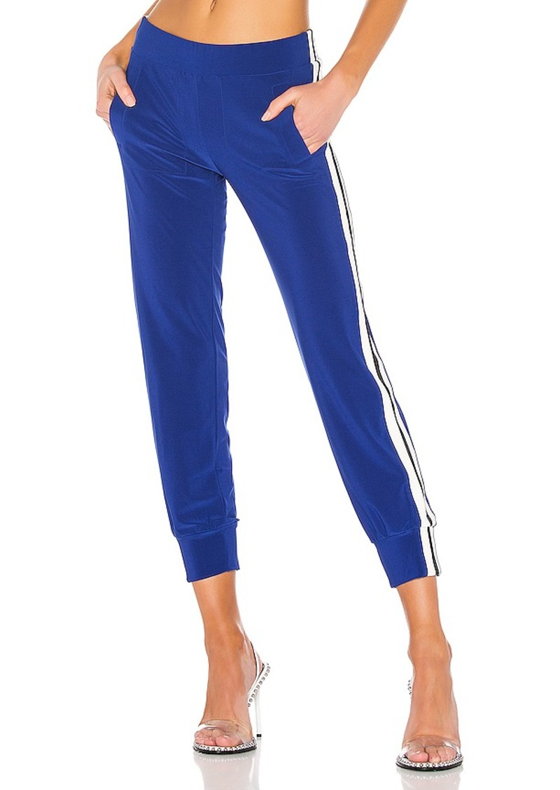 Norma Kamali Side Stripe Boot Pant