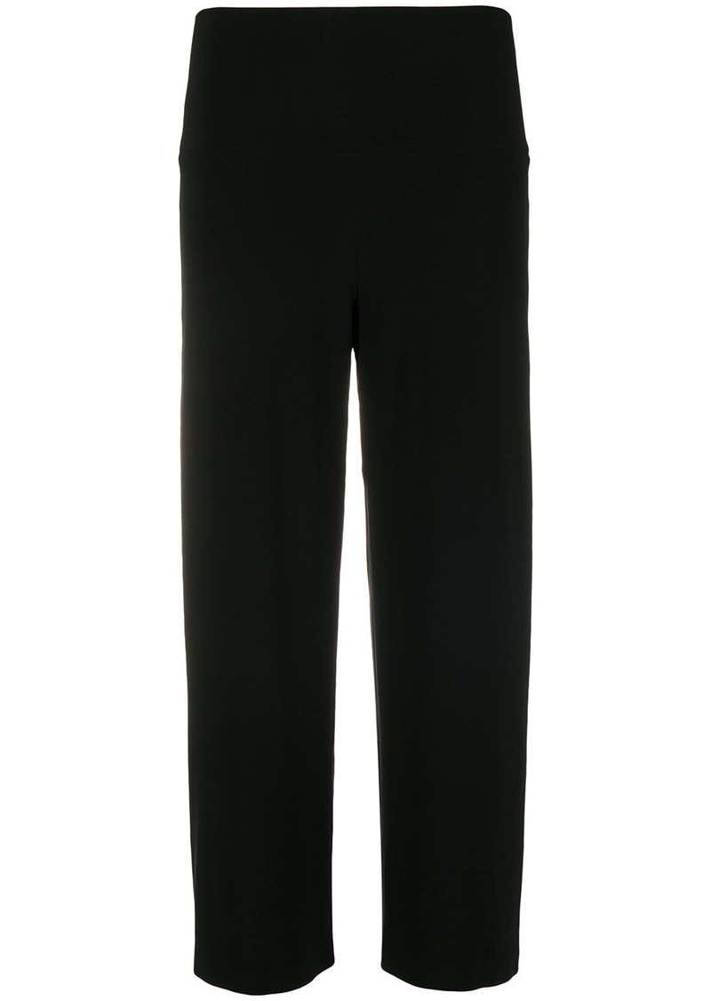Norma Kamali side stripe trousers