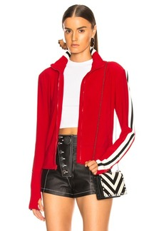 Norma Kamali Side Stripe Turtle Jacket